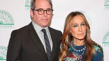 Matthew Broderick (L) and Sarah Jessica Parker attend Irish Repertory Theatre's YEATS: The Celebration at Town Hall on June 8, 2015 in New York City.  (Photo by Robin Marchant/Getty Images)