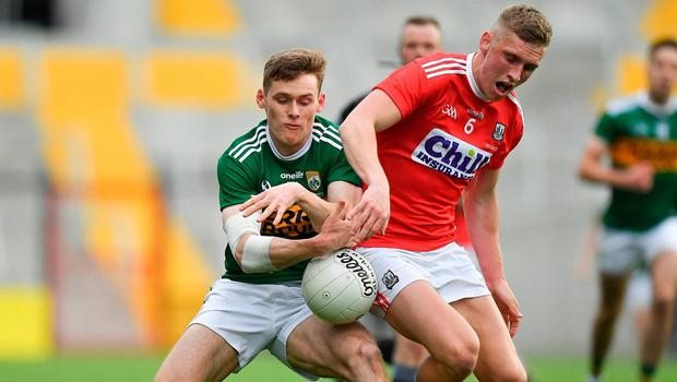 Status quo: Kerry's Gavin White and Cork's Sean White clash in last year's Munster final. The provincial structures have been under fire for 50 years. Photo: Sportsfile