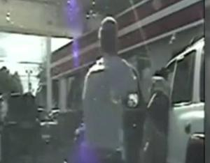 """In a case described as """"disturbing"""" by South Carolina police, state trooper Sean Groubert, 31, pulled driver Levar Edward Jones over at a petrol station in Colombia"""