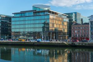 Riverside 1 building on Dublin's south quays