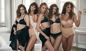 Victoria's Secret released a new campaign featuring a diverse range of models for the first time