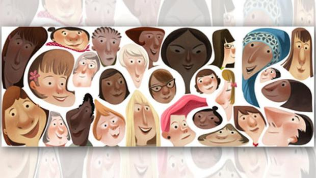 Google Doodle to mark International Women's Day