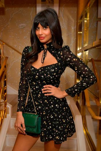 Jameela Jamil attends Glamour x Tory Burch Women To Watch Lunch at Tory Burch Rodeo on September 20, 2019 in Beverly Hills, California. (Photo by Emma McIntyre/Getty Images for Glamour x Tory Burch)