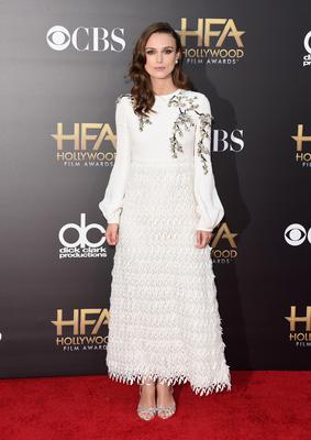 HOLLYWOOD, CA - NOVEMBER 14:  Actress Keira Knightley attends the 18th Annual Hollywood Film Awards at The Palladium on November 14, 2014 in Hollywood, California.  (Photo by Jason Merritt/Getty Images)