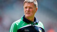 A win on for Limerick in the All-Ireland minor final against Kilkenny would cap all the good work manager Brian Ryan sees being done at club level. Photo: Brendan Moran / SPORTSFILE