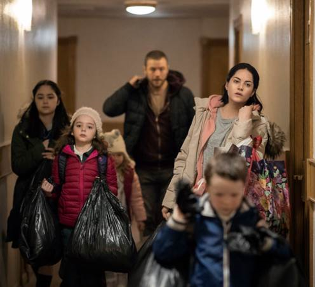 First still from Paddy Breathnach's Rosie, based on a screenplay by Roddy Doyle