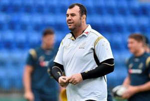 Australia coach Michael Cheika clearly has the ability to electrify a group of players and arch them to their full expression. Photo: Ramsey Cardy / SPORTSFILE