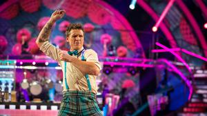 James Cracknell swiftly left Strictly Come Dancing (Guy Levy/BBC)