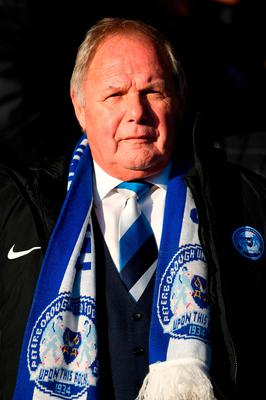 Peterborough director of football Barry Fry has been banned from all football-related activity for four months, three of which are suspended, after accepting a charge of misconduct in relation to betting, the Football Association has announced. Joe Giddens/PA Wire