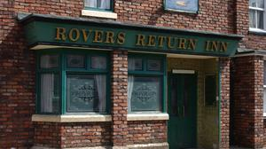 Rovers Return Inn on the set of the soap Coronation Street (ITV/PA)