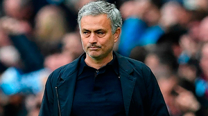 Manchester United's Portuguese manager Jose Mourinho. Photo: Getty Images