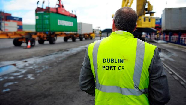 More business: Irish ports will open routes to Europe. Photo: Bloomberg