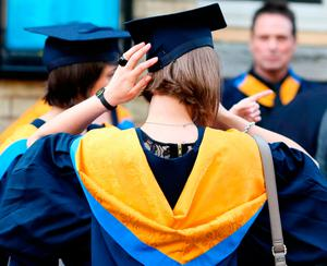 The number of foreign students will fall due to Covid-19. Stock Image