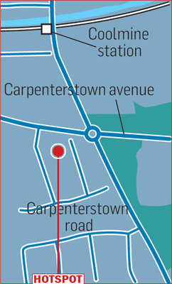 CARPENTERSTOWN: Settled family area with good services, trains and mid-range houses.
