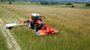 The first Kuhn GMD disc mower was launched in 1967