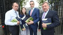 Launching the IFA pre-Budget Submission - Farming for a Sustainsble Future – in Dublin today IFA President Joe Healy said a progressive Budget 2020. Picture:  Finbarr O'Rourke