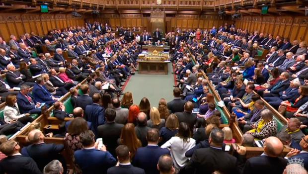 British MPs pack the chamber at the conclusion of the debate ahead of a vote on the UK Prime Minister's Brexit deal in the House of Commons, London Photo credit: House of Commons/PA Wire