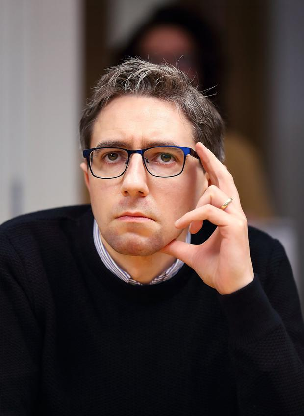 Cheap point: Simon Harris took aim at Christians who find IVF objectionable. Photo: Frank McGrath