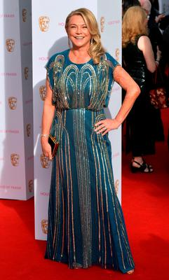 Amanda Redman attending The House of Fraser British Academy Television Awards at the Theatre Royal, London. PRESS ASSOCIATION Photo. Picture date: Sunday May 10, 2015. Photo credit should read: Hannah McKay/PA Wire