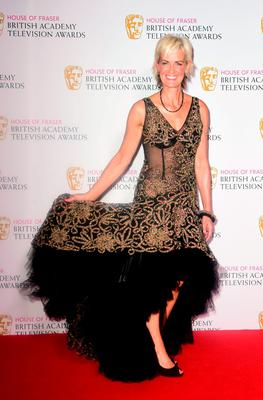 Judy Murray at the House of Fraser British Academy of Television Awards at the Theatre Royal, Drury Lane in London. PRESS ASSOCIATION Photo. Picture date: Sunday May 10, 2015. See PA story SHOWBIZ Bafta. Photo credit should read: Ian West/PA Wire