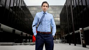 In this together: 'We've saved lives, we've saved loads of lives together,' says Minister for Health Simon Harris, seen here outside the Department of Health HQ in Dublin. Photo: Frank McGrath