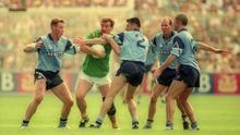 Colm O'Rourke's last game for Meath was a 10-point defeat to Dublin the 1995 Leinster final. Photo by Ray McManus/Sportsfile