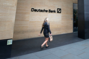 Deutsche Bank's headquarters on London Wall in the City