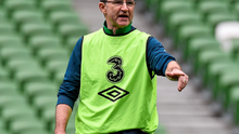 Martin O'Neill's relaxed demeanour in front of the press indicated that he expects a cordial meeting with the Northern Ireland squad today