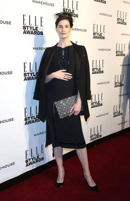 Erin O'Connor attends the Elle Style Awards 2014