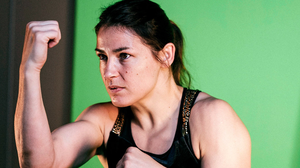 No time for trash talk: For Katie Taylor, everything revolves around how she does in the ring. Photo: Mark Robinson / Matchroom Boxing via Sportsfile