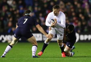 England's Elliot Daly in action. Photo: Lee Smith/Action Images via Reuters