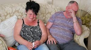 Helen and Joseph, parents of William Maughan, who is missing along with his girlfriend Anna Varslavane.