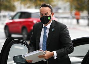 Tanaiste Leo Varadkar warned of the possibility of a second, third and fourth waves of deaths linked to the Covid-19 pandemic (Brian LawlessPA)