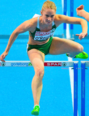 O'Rourke at her competitive best. Photo: Brendan Moran / SPORTSFILE