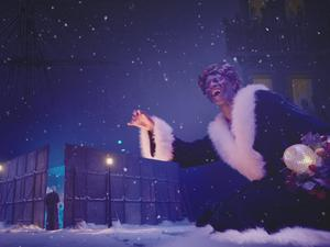 Jacqui Morris's version of 'A Christmas Carol' is original in its fusion of Dickens' language, ballet, voiceover and animation