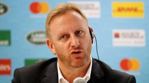 World Rugby Chief Operating Officer and Tournament Director Alan Gilpin. Photo: REUTERS/Matthew Childs