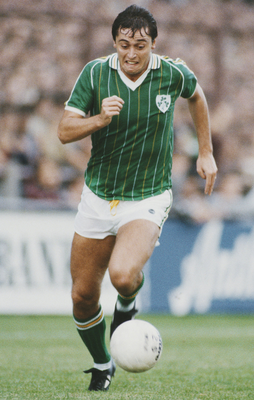 Pace and punch: Ex-Ireland striker Michael Robinson. Photo: Allsport/Getty Images