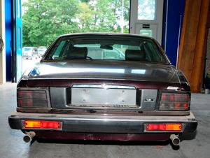 Undated handout photo issued by Metropolitan Police of a 1993 Jaguar XJR6 that has been linked to the suspect.  PA WIRE