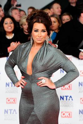 Lauren Goodger attends the National Television Awards 2012 at the 02 Arena on January 25, 2012 in London, England.  (Photo by Ian Gavan/Getty Images)