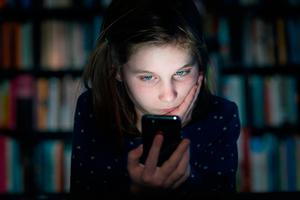 'Many children say that cyberbullying is taking place during the night, without a parent's knowledge' Photo: Getty