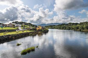 River Laune in Killorglin, County Kerry, Ireland