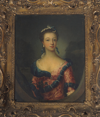 Fantasy art: Loftus Howe's painting of Maria Gunning is estimated to fetch between €8,000 and €10,000 at Sheppard's auction later this month