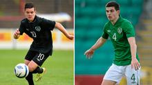 Liam Kelly and John Egan have been called up to the Ireland squad