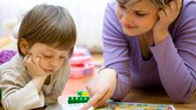 Parents of children with autism face long waits for therapies like this. Stock image