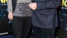Pat Kenny and wife Kathy Kenny at the Irish premiere screening of Liam Neeson's new film Run All Night at Cineworld, Dublin. Picture: Brian McEvoy