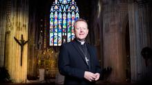 Reflection: Archbishop Eamon Martin in Armagh Cathedral. Photo: David Conachy