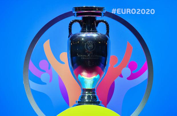 Questions marks still hang over Euro 2020 ahead of this summer. Photo by UEFA via Sportsfile