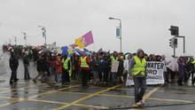 Water Protest Wexford on Saturday afternoon