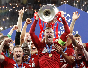 Liverpool captain Jordan Henderson will be hoping to lift the Premier League trophy in the next few weeks