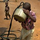 Water of life: The United Nations' development goals work towards providing clean drinking water in developing nations, among other projects. Photo: PA wire